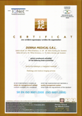 Certificate standarde de calitate ISO Dorna Medical